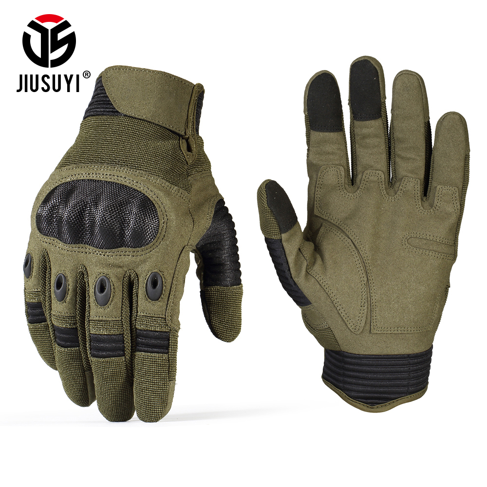 Tactical-Gloves Knuckle Bicycle Touch-Screen Paintball Full-Finger-Gloves Shooting Combat-Anti-Skid title=