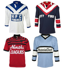 RETRO RUGBY JERSEY SYDNEY Cronulla Sharks BEARS NORTH 1991 1985 1976 1988 BULLDOGS BANKSTOWN