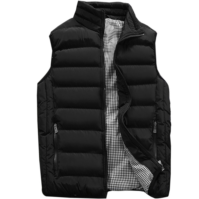 Vest Men New Stylish 2019 Spring Autumn Warm Sleeveless Jacket Men Winter Waistcoat Men