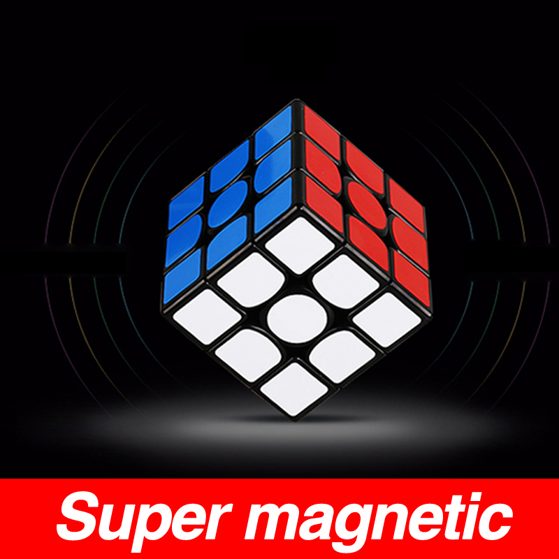 Original Yongjun Yupo v2 M 2x2x2 Magnetic Cubing Speed 2x2 2M Magic Cube Puzzle Professional Educational Toys for kids