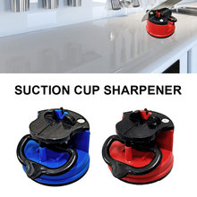 Knife Sharpener with Non-Slip Suction Cup Pocket Kitchen Knife Sharpener Polish Blades Quickly Tool Kitchen Accessories