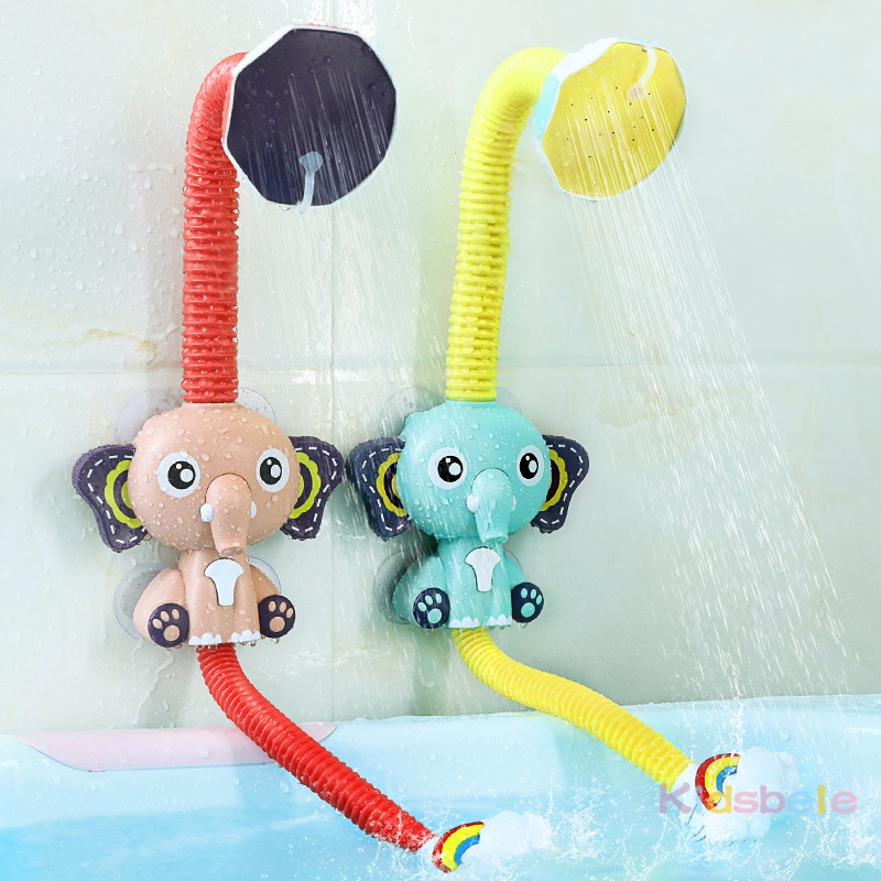 Bath Toys Baby Water Game Elephant Model Faucet Shower Electric Water Spray Toy For Kids Swimming Bathroom Baby Toys-02
