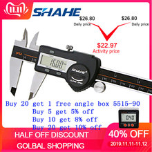 SHAHE Electronic Vernier Caliper-Messschieber-Caliper Digital Stainless-Steel Hardened