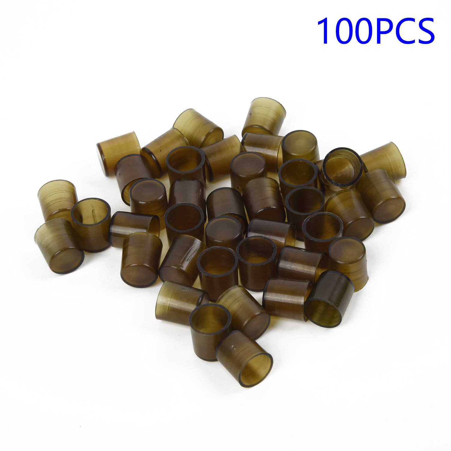 100pcs Plastic Brown Cell Cups Queen Raise Rearing Honey Bee Beekeeping w//Holder