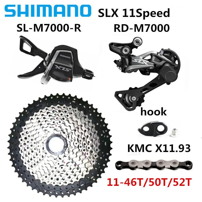 SHIMANO SLX M7000 Gear Set SL-M7000 Right Shifter RD-M7000-GS Derailleur Housing