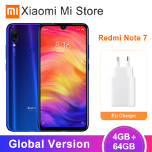 Xiaomi Redmi Note 7 4GB GSM/LTE/WCDMA Quick Charge 4.0 5g wi-Fi Octa Core Fingerprint Recognition