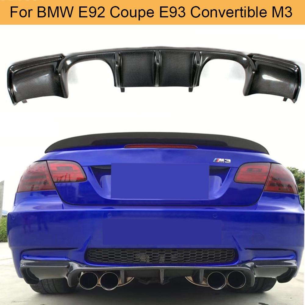 2005-2013 BMW E92 E93 335i  2D ABS Black Rear Bumper Lips Performance Diffuser