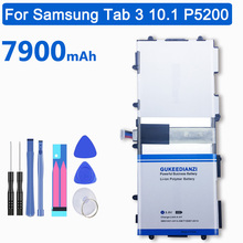 Tablet P5200 Battery-T4500e 7900mah Samsung Galaxy GUKEEDIANZI for Tab-3/10.1/P5200/..