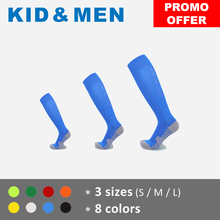 Stockings Cushioned Football-Socks Soccer-Compression Adult Boys Kids' Over-The-Calf