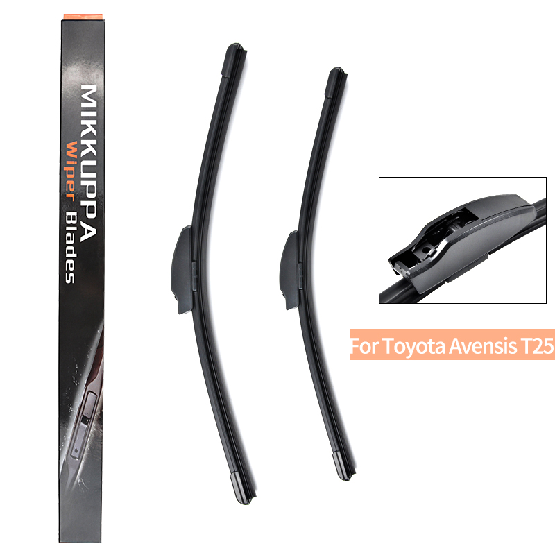 MIKKUPPA Front Wiper Blade For Toyota Avensis T25 2003 2004 2005 2006 2007 2008 Pair 24