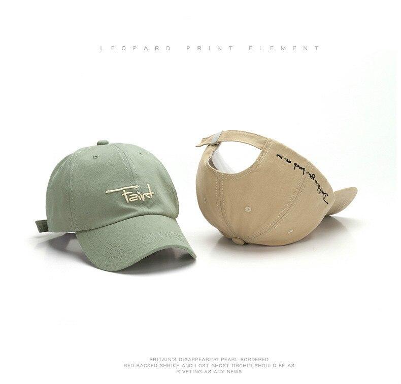 Correas largas KPOP Gorra de b/éisbol Hombres Hip Hop Letra Hueso Ni/ñas Ni/ños Moda Mujeres Snapback Sombreros Coreanos