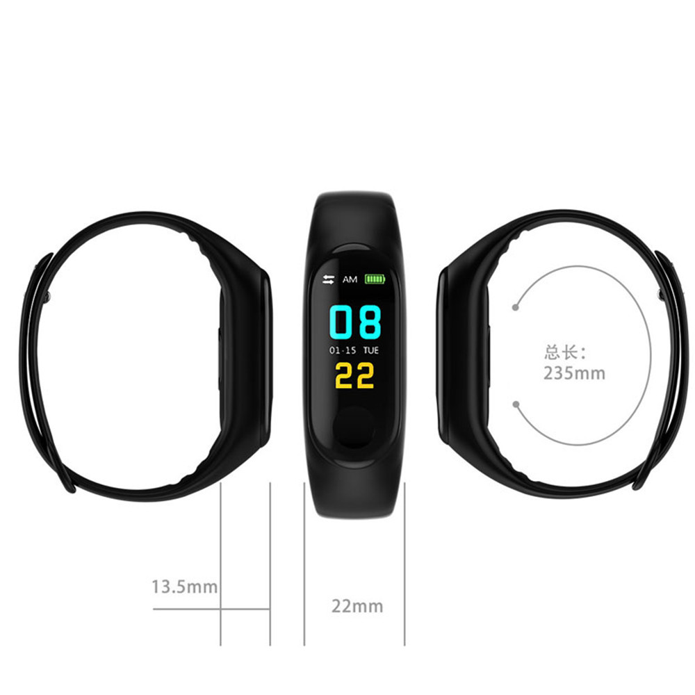 M3-Smart-Band-Watch-Fitness-tracker-Wristband-Heart-Rate-Activity-Color-Screen-Smart-Electronics-Bracelet-Sport (5)