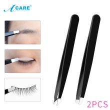 Makeup-Tool Puller Eyebrow-Tweezer Professional ACARE Hair-Removal Flat-Tip Beauty-Slanted