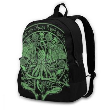 The Idol Sick Green Variant Cthulhu God Art Backpack