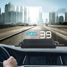 Security-Alarm Computer Head-Up-Display Obd2 Driving Mirror Hud Speed-Projector Overspeed