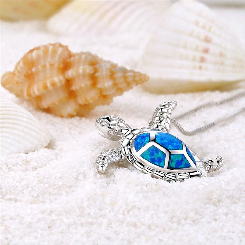1PCS-Silver-Filled-Blue-Opal-Sea-Turtle-Cutout-Pendant-Women-Necklace-Beach-Gift (4)