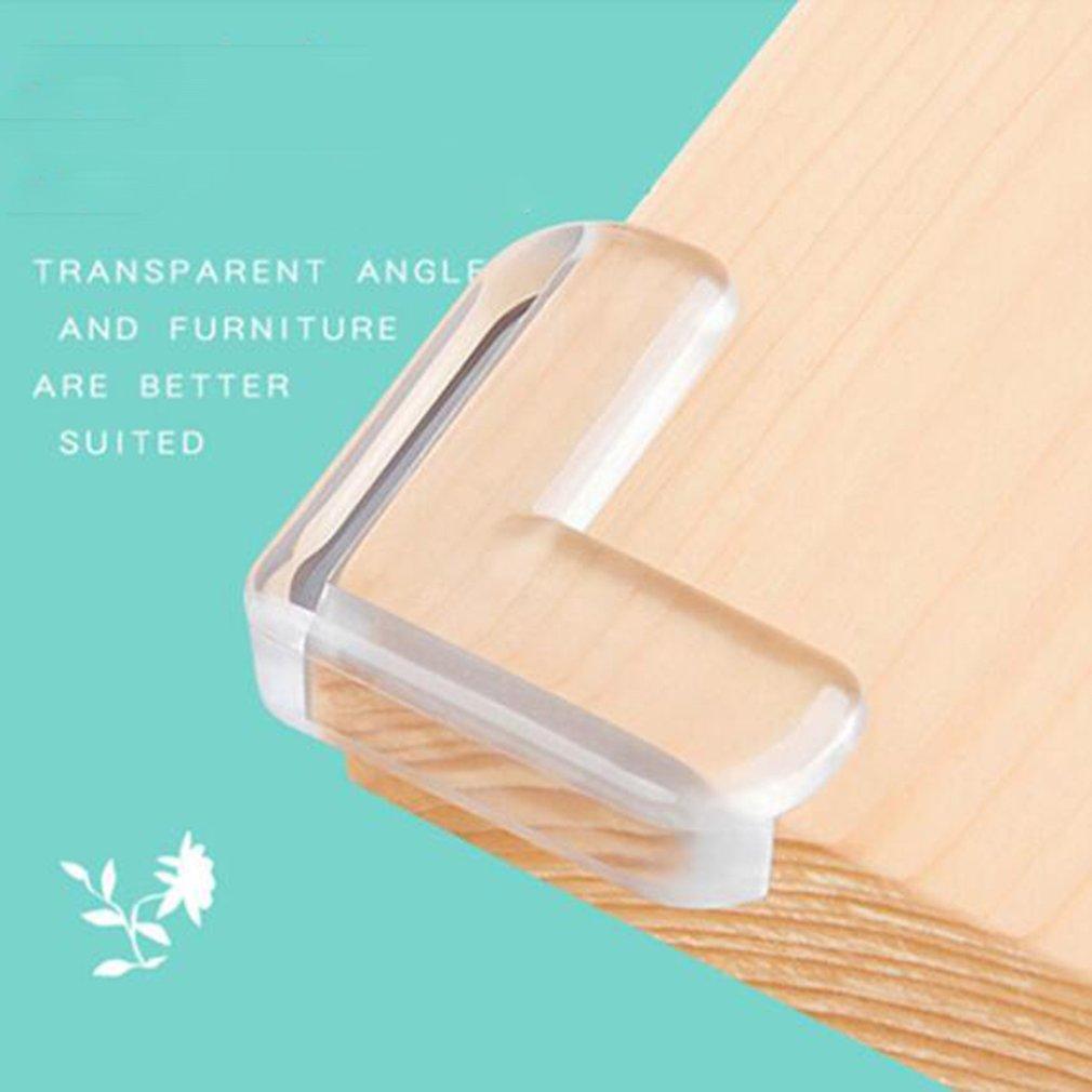 Anti-Collision Angle for Children Thickened Corner Protector Set whenear 12PCS Transparent Soft Corner
