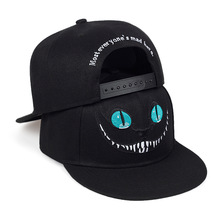 Cotton Hat Snapback-Caps Baseball-Cap Embroidery Cheshire Cat Adjustable Men's And Hip-Hop-Hat