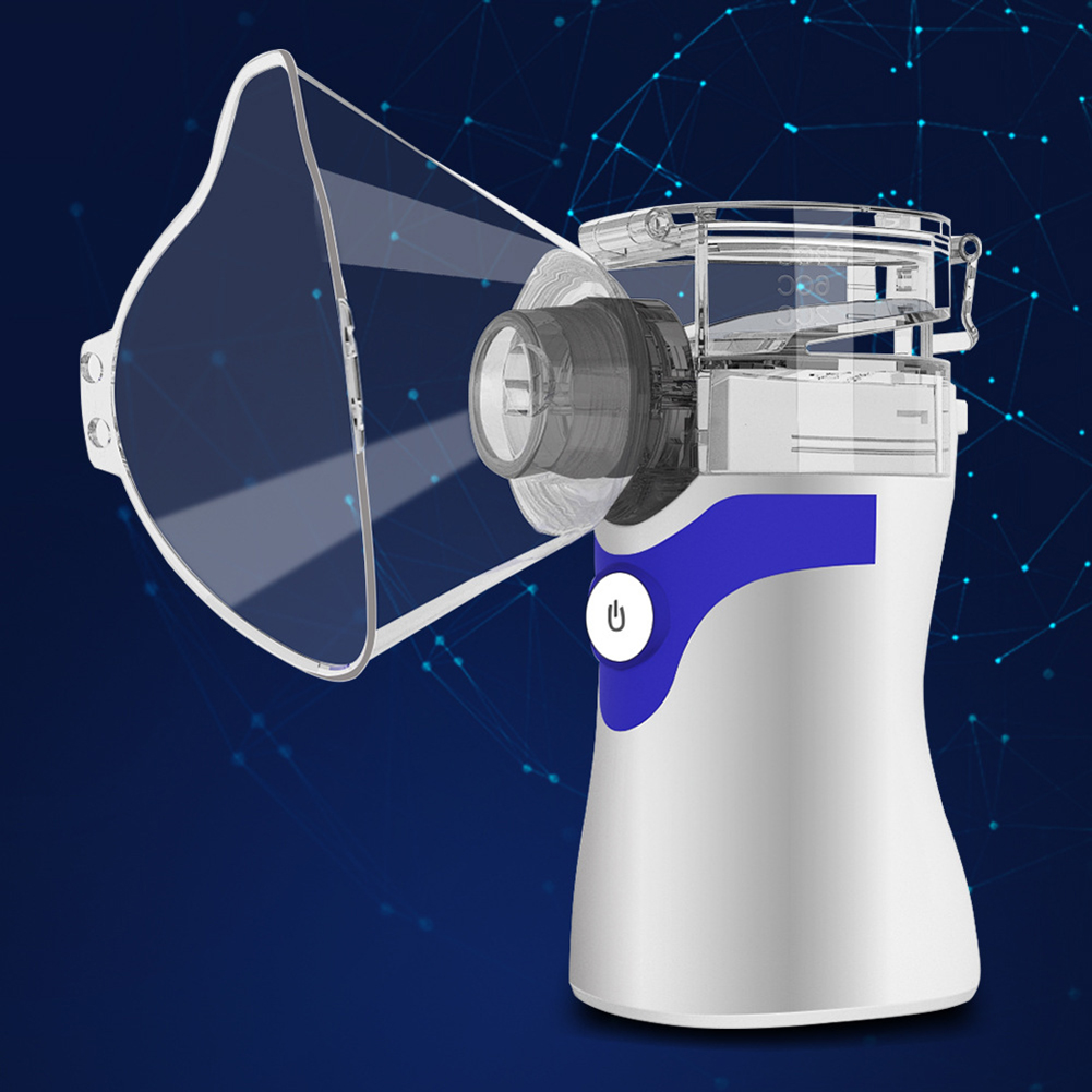 Appliance - Portable Ultrasonic Nebulizer Respirator Humidifier Atomizer silent inhaler nebuliser Adults Children Home Inhaler Machine