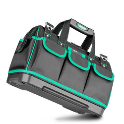 AIRAJ Tool Bag Portable Electrician Bag Multifunction Repair Installation Canvas Large Thicken Tool Bag Work Pocket