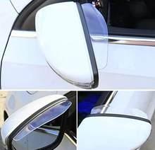 Car Accessories Rearview Mirror Rain Shade For Suzuki Swift Grand Vitara Sx4 Vitara Spoiler Alto Liana(China)