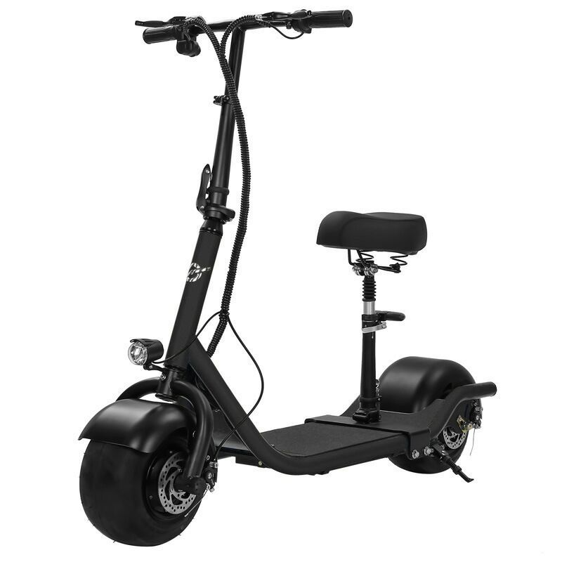 Electric Scooter Bike Two Wheels Electric Scooter 36V 350W Motorcycle Portable Smart Electric Citycoco Scooter With Seat         (3)