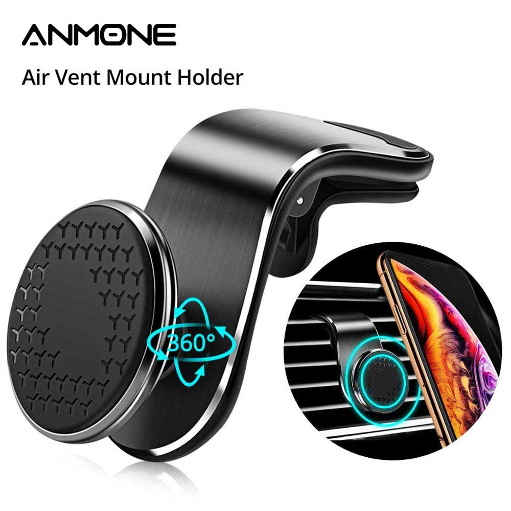 ANMONE Car-Phone-Holder Car-Bracket Navigation Metal Magnetic Universal iPhone11  title=
