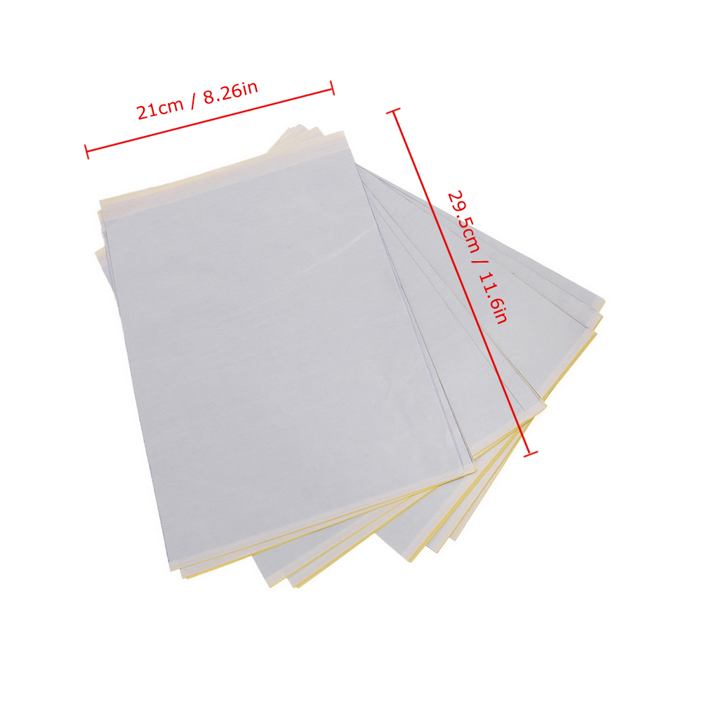 Transfer Tattoo Paper for Tattoo Practice (25/30/50pcs) 11