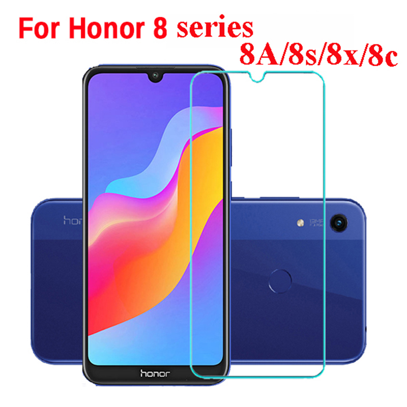 Glass Screen-Protector Safety-Film Honor 8x8lite Original Huawei for 8s 8a 8c S8 title=