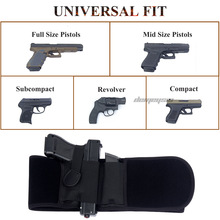 Pistol-Gun Girdle-Belt Holster Gun Concealed-Carry Belly-Band Elastic Right/left-Hand