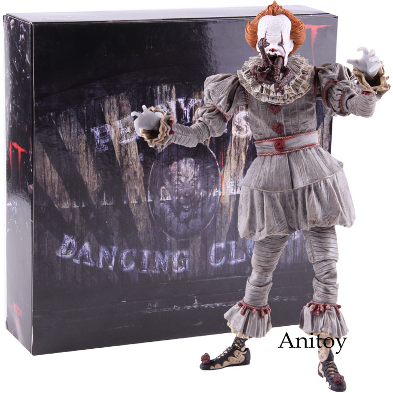 NECA Stephen King/'s It Pennywise PVC Action Figure Collectible Model Toy