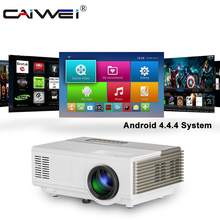LED Video-Projector Screen-Mirroring Android-Beamer Wifi HDMI 720P 1080P Wireless