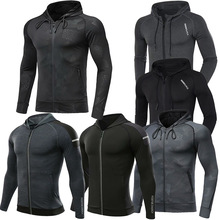 Sweatshirt Hoodies MMA Training Fitness Male Gym Men Dry-Fit Bodybuilding Outdoor Brand