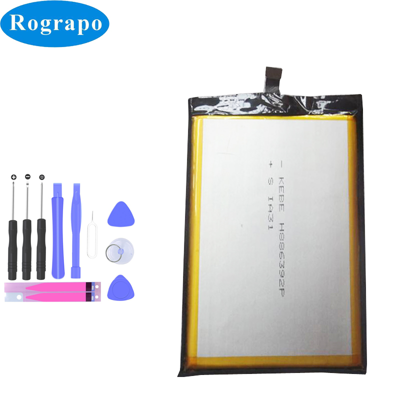 Original 8500mAh Bluboo S3 Mobile Replacement Battery Cell Phone Batteries title=