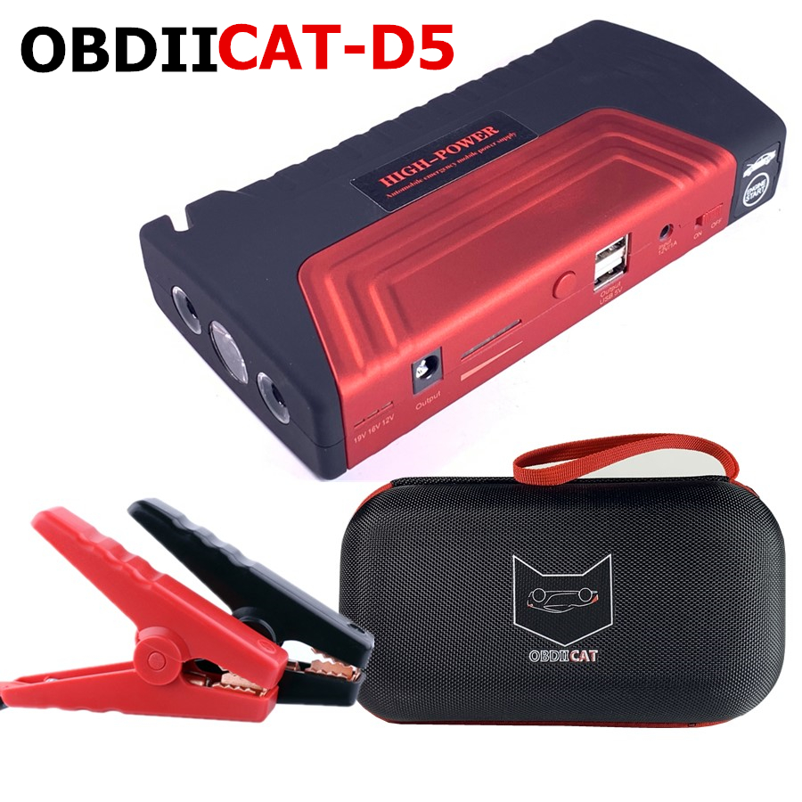 12V Booster Power-Battery-Charger Car Jumper Phone-Laptop-Power-Bank Mobile Portable title=