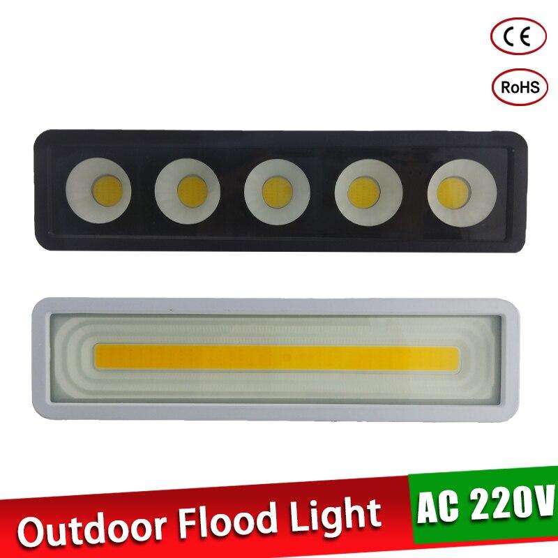LED Flood Light 50W 220V Floodlight Outdoor Garden Lighting Spotlight IP65 Waterproof Led Projector Light Cold White Wall Lamp