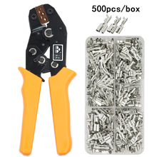 Crimping-Plier Tools Terminals-Sets Sn-48b-Wire Tab-2.8 Precision-Jaw COLORS 20-13AWG