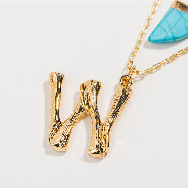 letter w necklace