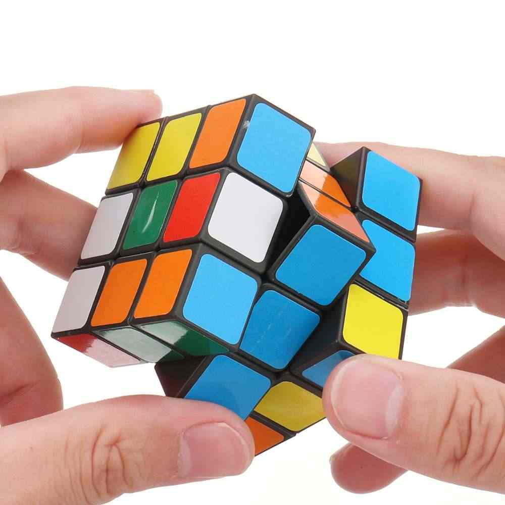 Free Shipping Magic Cubes Professional 3*3*3 Sticker SpeedCube Twist Puzzle Toys for Children/Adult Gift Educational Toys Cube