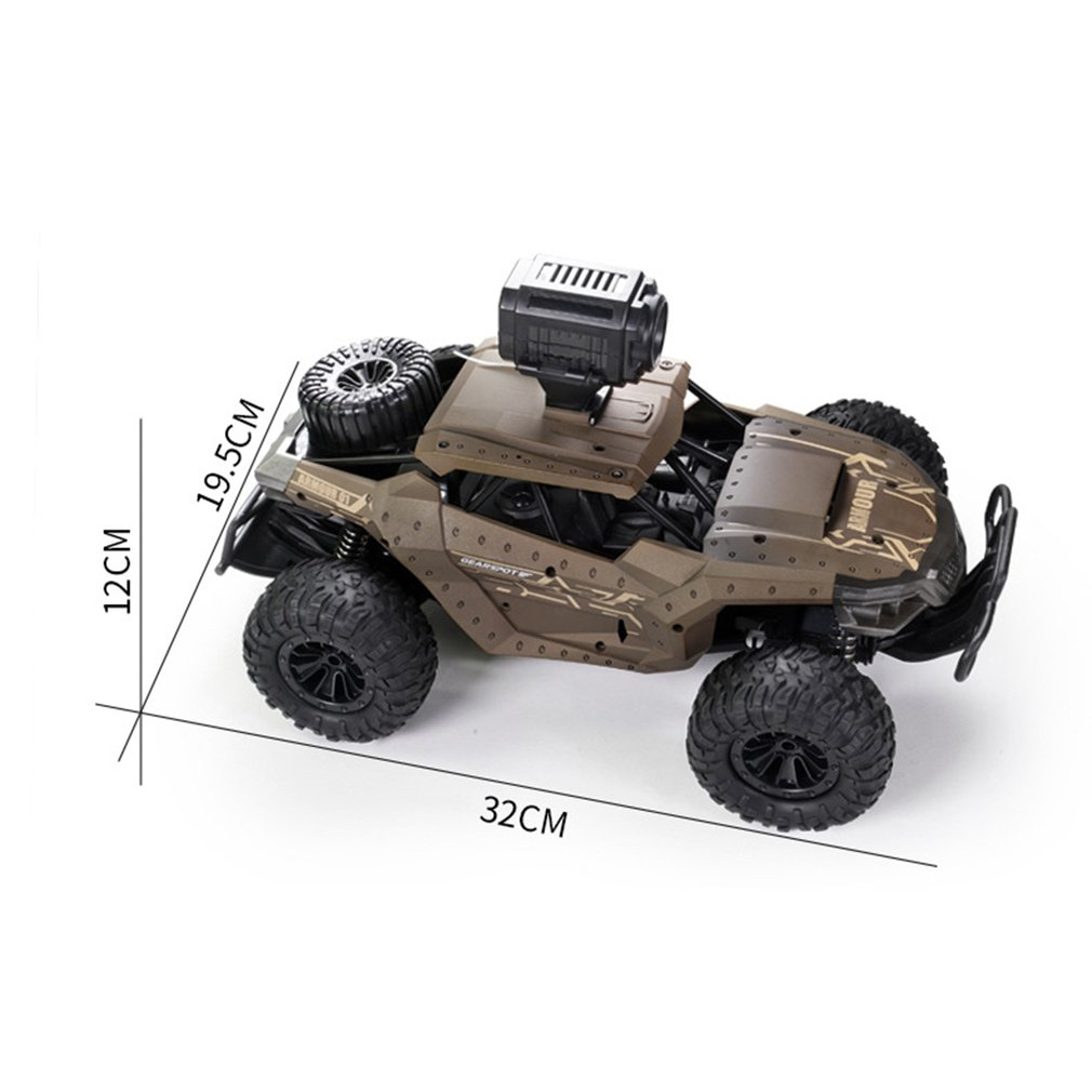 Transportation - 2.4G Electric 4 Wheel Drive Buggy Rock Crawler RC Car RC Trucks Off-Road Vehicle With 480P Camera