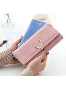 Designer Wallets Coin-Pocket-Card Female Purse Long Clutch Large-Capacity Phone-Brand