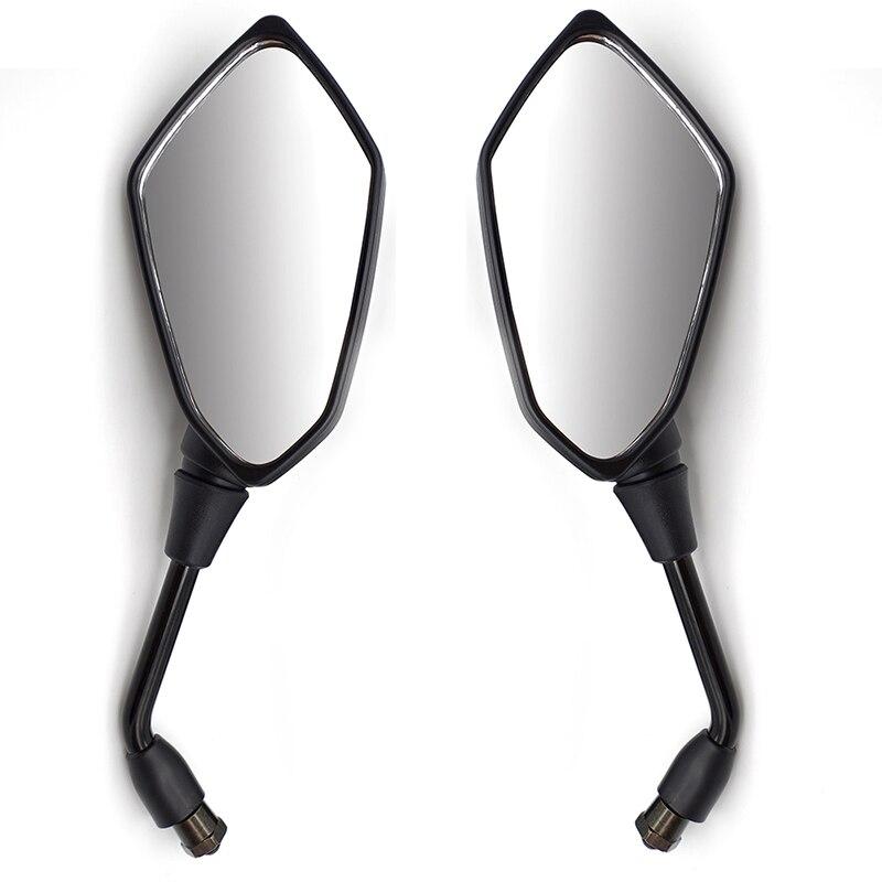 Accessoires moto Modifi/é Rearview Mirror Universal Rearview Mirror Convient for une vue arri/ère de voitures de rue Moto Guidon Vue arri/ère Miroirs ronde Convex clip sur Retro Moto Accessoires scoo