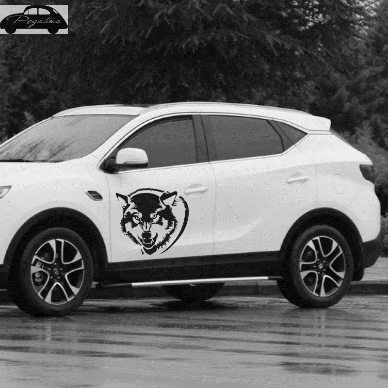 Pegatina Hunt Wolf Decal Hunting Club Sticker Hollow Sticker Hunter Car Window Vinyl Decal Funny Poster Motorcycler