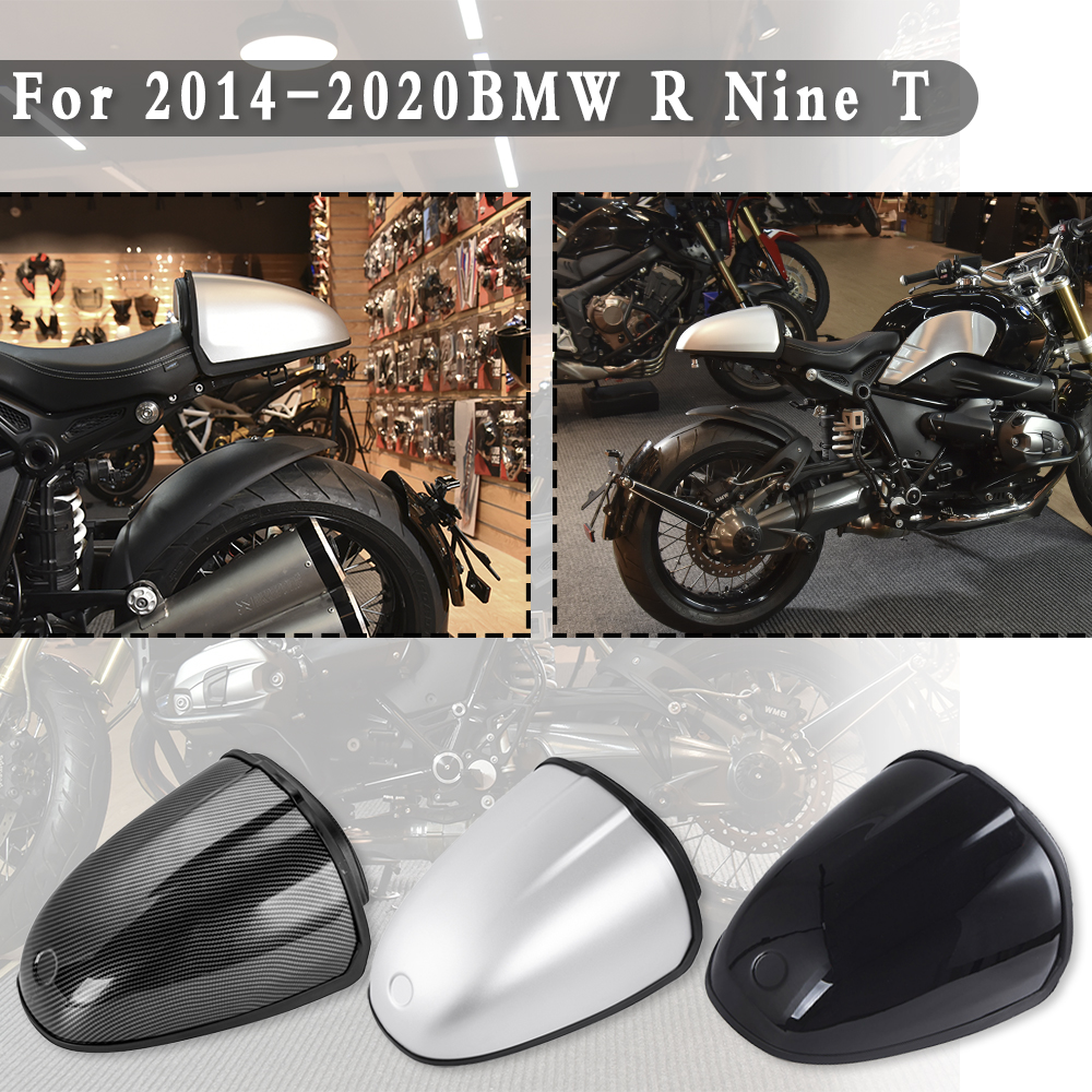 Black Racing Rear Pillion Seat Hump Cover Cowl for 2014-2018 BMW R Nine T R9T