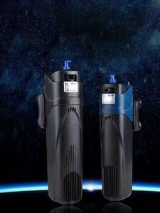Аквариумный УФ-стерилизатор, насос для циркуляции воды с фильтром + увеличение воздуха + УФ-стерилизатор + удаление водорослей + дезодорирую...