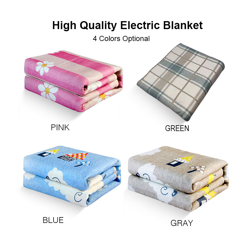 Electric Blanket Double 220v Warm Heater Bed Thermostat Soft Electric Mattress Heating Blanket Warmer Heater Carpet US EU title=