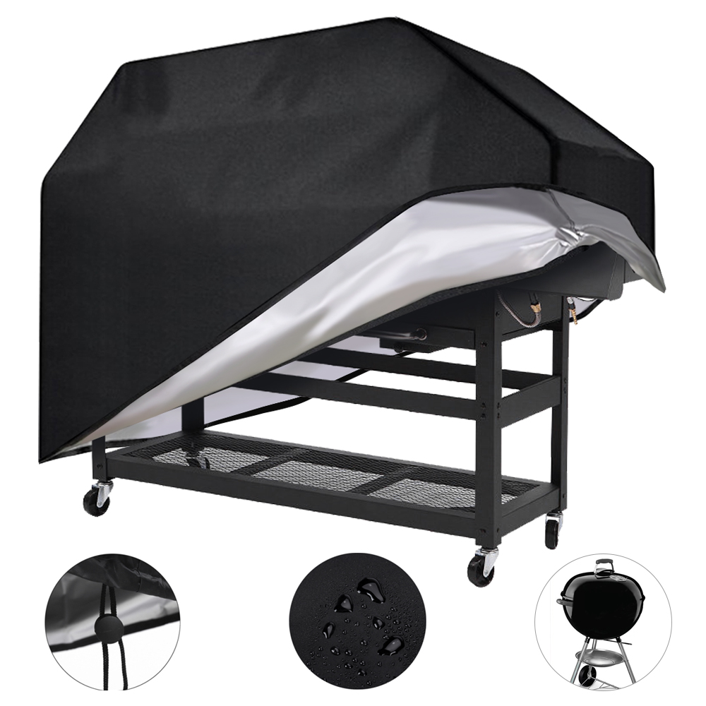 210D BBQ Cover Waterproof Grill UV Protector Gas Charcoal  Barbecue Heavy Duty