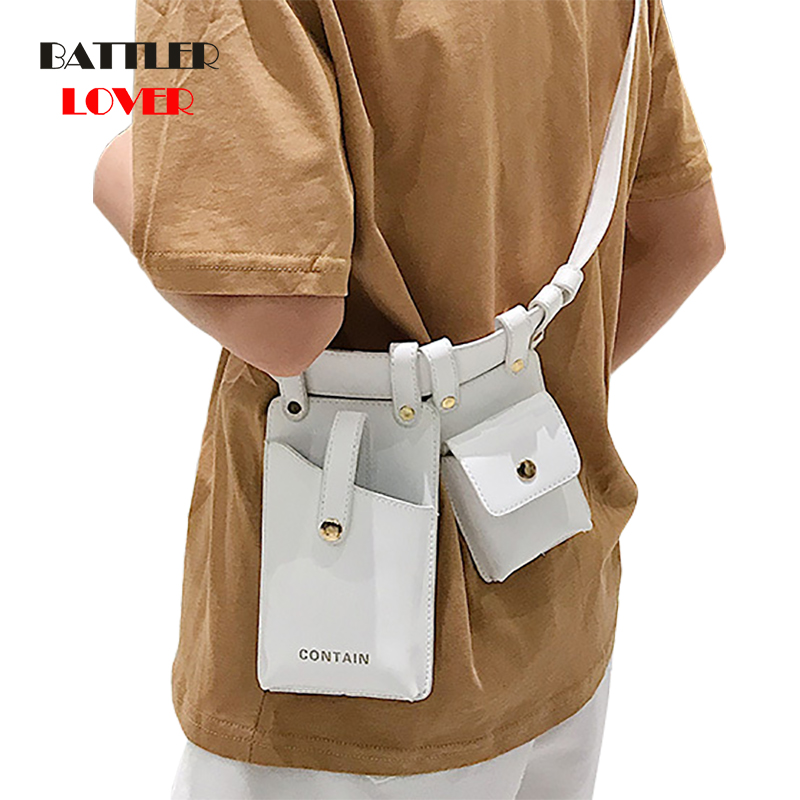 Fashion Hip Hop Unisex Waist Pocket Bag Women 2020 Single Shoulder Bag Luxury Brand Female Phone Pouch Crossbody Bags Waistbag