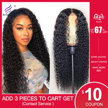 Modern Show Hair 13*4 Brazilian Curly Lace Front Human Hair Wigs Pre Plucked 150% Density Front Lace Wigs High Ratio Remy