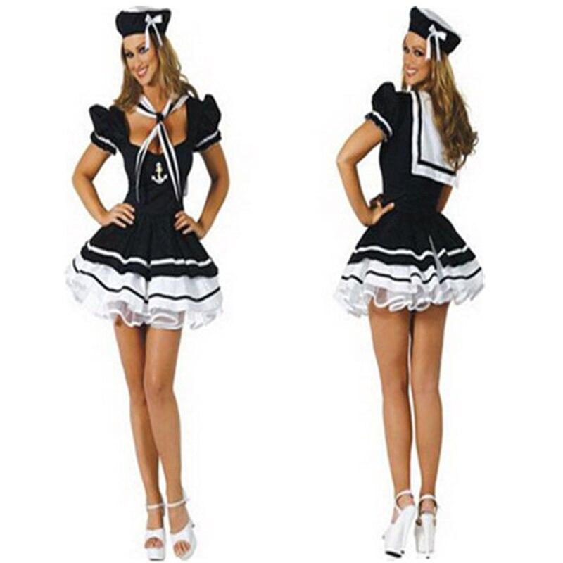 Adult RN Nurse Pin Up Retro Halloween Costume White//Blue Mini Dress Set S-XL US